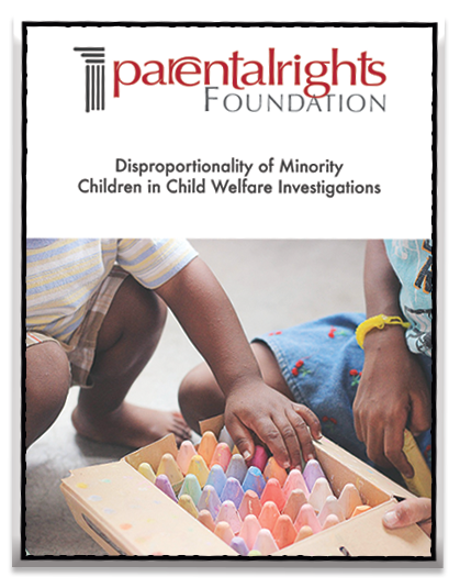 Disproportionality of Minority Children in Child Welfare Investigations