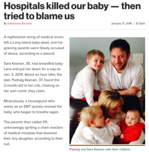 Hospitals killed our baby -- then tried to blame us