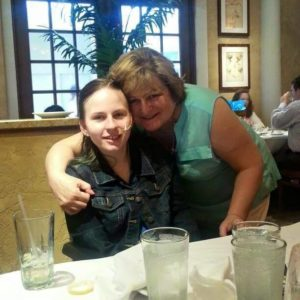 Justina and Her Mom